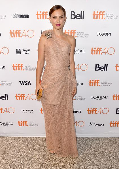 "attends the ""A Tale of Love and Darkness"" premiere during the 2015 Toronto International Film Festival at the Winter Garden Theatre on September 10, 2015 in Toronto, Canada."