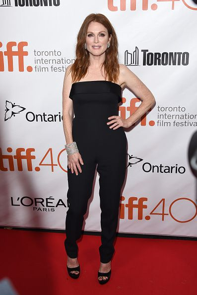 "attends the ""Freeheld"" premiere during the 2015 Toronto International Film Festival at Roy Thomson Hall on September 13, 2015 in Toronto, Canada."