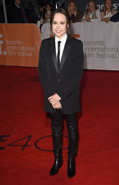 "TORONTO, ON - SEPTEMBER 13: Actress Ellen Page attends the ""Freeheld"" premiere during the 2015 Toronto International Film Festival at Roy Thomson Hall on September 13, 2015 in Toronto, Canada. (Photo by Jason Merritt/Getty Images)"